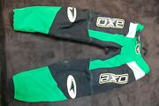 Axo Mx Pants, Size 32, Green/black, Excellent Used Condition, Dirt Bike Motocros