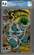 Superman The Man Of Steel 18 Cgc 9.6 Wp 5th Print 1st Full App. Of Doomsday