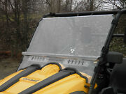 Massimo Motor Msu 500 / 700 Lexan Windshield With Loop Clamps And Dual Vents