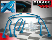For 13-19 Brz Fr-s Chassis Mounted Bolt On 6-point Anti Roll Bar Cage Kit Blue