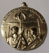 Wwii 1945 Bronze Asiatic Pacific Campaign Us 32mm Military Soldier Sailor Medal