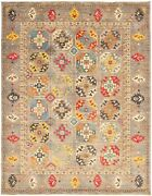 Hand-knotted Carpet 9and0391 X 11and03911 Traditional Oriental Wool Area Rug