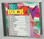 Rock On 1989 Top 40 Chart Busters [cd1996] Various Artists W/ Collectible Decal