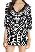 Preowned Trina Turk Algiers Tunic Cover Up Size M