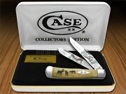 Case Xx The Rut Antique Bone Trapper 1/600 1 Stainless Pocket Knife Knives