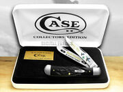 Case Xx Rough Black Delrin Duck Hunting 1/600 Trapper 1 Pocket Knives