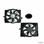 Genuine Engine Cooling Fan Assembly 17427524881 For Bmw