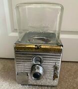 Rare Nw Northwestern 49 Chrome Peanut Or Candy Vending Machine
