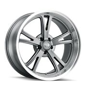 Cpp Ridler 606 Wheels 17x8 + 18x9.5 Fits Dodge Charger Coronet Dart