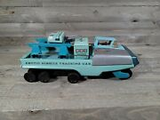 Vintage Bandai Sears Arctic Missile Tracking Car Tin Very Rare Not Working 1960s