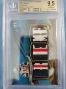 Tom Brady 2009 Triple Threads Sapphire Patches 3/3 Sweet Patches Hof