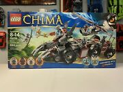 Lego 70009 Legends Of Chima Worrizand039 Combat Lair Brand New And Sealed