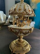 Franklin Mint House Of Faberge Carousel Egg