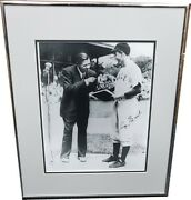 George H. W. Bush Hand Signed Autographed 11x14 Photo Baseball Babe Ruth Jsa