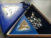 1994 Large Christmas Ornament/snowflake, Complete And Perfect