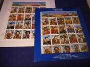 Scott's No. 2869 And 2870 Legends Of The West Error And Revised Souvenir Sheets