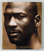 Michael Jordan Autographed Oversized Hardcover Book, For The Love Of The Game