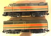 Aristocraft G Scale Alco Fa-1 And Fb-1 Great Northern Diesel Locomotives