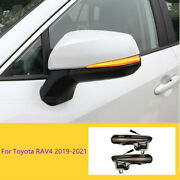 Led Side Mirror Sequential Dynamic Turn Signal Light For Toyota Rav4 2019-2021