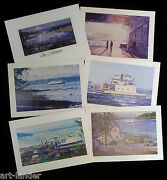 18 Marshall Johnson Gig Harbor South Puget Sound Ferry Blank Greeting Note Cards