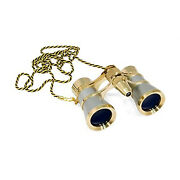 Levenhuk Broadway 325f Opera Glasses Silver, With Led Light And Chain