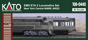 N Scale Kato E7 Aanda New York Central Road 4008 And4022 Dcc Ready Item 106-0440
