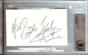 Will Smith Signed Autographed 3x5 Index Card Fresh Beckett Bgs