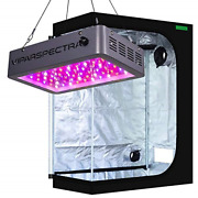Viparspectra Dimmable 600w Led Grow Light With 4and039x2and039 Mylar Hydroponic Grow Tent
