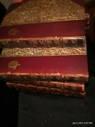 14beaux And Belles Of England Antique Leather Bound Rare Books Limited Edition