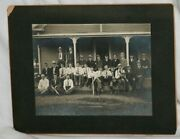 1902 Mitchell's Town Baseball Team Cabinet Photograph 13.75 X 10.75, By Lamson