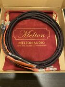 Pair Melton Audio Reference Ms350 Speaker Cable 3 Meter Pair For Ls3/5a Speakers