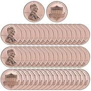 2019 W Lincoln Shield Cent Gem Dcam Reverse Proof 50 Coin Roll Ogp Penny