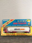 Champ Of The Road Hong Kong, Tractor Trailer Semi Truck, Blue, Boxed Union 76
