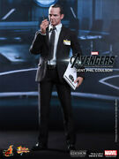 Hot Toys Mms189 Agent Phil Coulson Avengers 1/6 Scale Figure Uk - In Hand