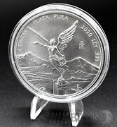 2020 Mexico 2 Oz Libertad Silver Coin Bu In Capsule Low Mintage