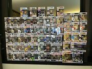 Assorted Funko Pop Movies And Games Vinyl Figures - New In Box Pick A Pop