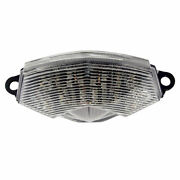Bike It Led Motorcycle Tail Light With Clear Lens And Indicators For Kawasaki Zx6r