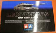 Tamiya Rc 1/16 Leopard 2a6 Full Option Tank Rtr Opened