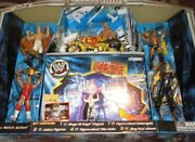 Wwe Smackdown Chrome Iron Collection Stage Of Rage Playset With 5 Action Figures