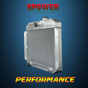 Mt Spawon 62mm For Willys Aero Ace52-53 4rows L6 2.6l 5153 Aluminum Radiator