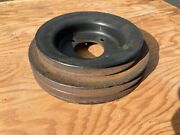 Triple Groove Crankshaft Pulley Oem Part - From A 1971 Cadillac W/ 472 Engine