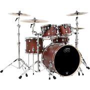 Dw Performance Series 5-piece Shell Pack Tobacco Stain Oil With Chrome Hardware