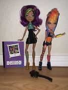 Monster High Clawdeen And Howleen Wolf Sister Pack Wave 1 Almost Complete