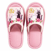 Studio Ghibli Kikiandrsquos Delivery Service Date With Jiji Slippers Pink