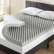 Best Price Mattress 3 Inch Egg Crate Memory Foam Topper Mattress Pad With Sooth