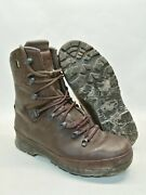 British Army Haix Gore-tex Leather Boots Cold Wet Weather Waterproof Breathable