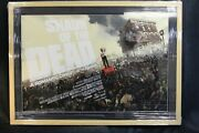 Shaun Of The Dead By Artist Jock Mondo - Sold Out - Professionally Framed