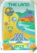 The Land Attraction Disney World Epcot Serigraph Poster Print Le 145/300