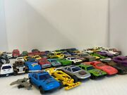 Set Of 50+ Toy Cars, Hot Wheels, Motorcycles, Taxi Models Present/gift Rare
