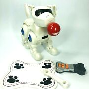 Manley Toys Tekno The Robotic Puppy Robo Dog W/accessories White And Blue O